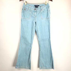 Mini Boden Girls Blue Corduroy Pants